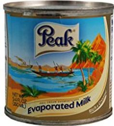 Peak Evaporated Milk, Full Cream Unsweetened - 5.4oz Cans - Pack of 12 *** Trust me, this is great! Click the image.