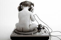 Turntables Wallpaper | baby dj, baby, dj, headphones, turntable