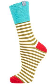 urban knit stripe ankle socks ++ topshop