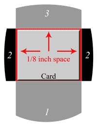 Easy envelopes for handmade cards ions 1 lay your card envelope card making template for a 4 12 x 5 12 pronofoot35fo Image collections