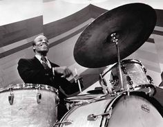 Jazz drummer Papa Jo Jones