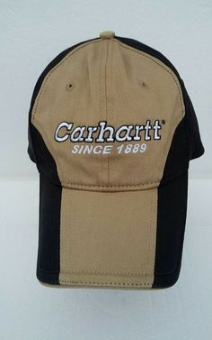 87194e5adc807 Carhartt Since 1988 2006 Low Profile 6 Panel Unstructured Baseball Cap Size  M L