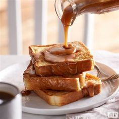 Sweeten up your mornings with our Fantastic French Toast! First cook your french toast and when complete, top with our tasty peanut butter syrup mixture. It will be a breakfast like no other.