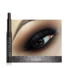 Beauty Essentials Smart Focallure 12 Colors Eyeshadow Pencil Women Beauty Cosmetic Shimmer Glitter Eye Shadow Pen Waterproof Eye Makeup