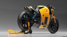 Koenigsegg motorcycle by Burov art (fb.com/conceptcars)