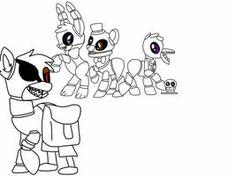 Five nights at freddy s coloring pages bing images