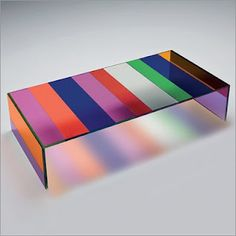 Dark side of the moon table by Piero Lissoni