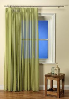 Luxury Linen look leaf voile with a lead weighted hem and also Fire Retardant.