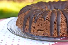 Vegan chocolate chip apple cake