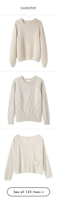 """""""sweater"""" by sinyukovayulya ❤ liked on Polyvore featuring tops, sweaters, shirts, jumpers, crew-neck sweaters, pink collared shirt, collared shirt, long sleeve collar shirt, long-sleeve shirt and pullover shirt"""