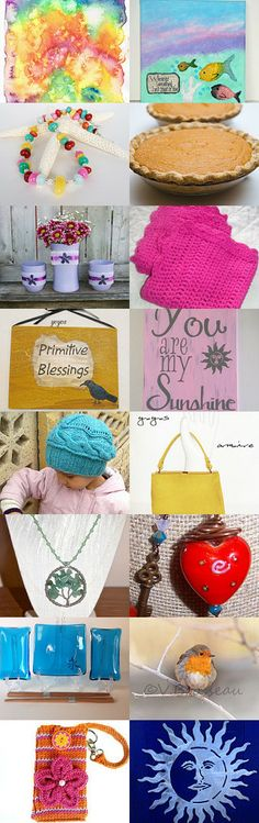 Always bright and sunny! by Daveda on Etsy--Pinned with TreasuryPin.com