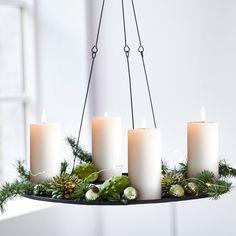 Adventsløsninger - Se smukke adventsløsninger på inspiration og bliv inspireret #inspirationdk #inspiration #jul #advent #christmas #lys