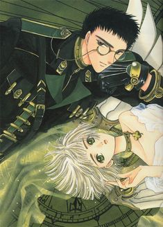 This is one of my favorites from Clover by CLAMP. Manga Anime, Anime Art, Tokyo Babylon, Toon Cartoon, Masamune Shirow, Devian Art, Card Captor, Manga Artist, Hayao Miyazaki