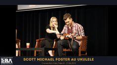 Scott Michael Foster plays the ukulele at Fairy Tales III