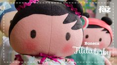 Boneca Tilda Baby (Vera Portela)