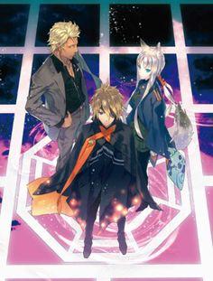 The awesome trio! <3 _ <3 Anime : Tokyo Ravens~