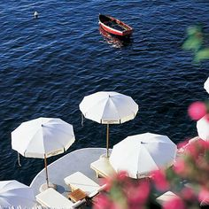 Hotel Santa Caterina of Amalfi :: Italy :: By Travelive Oh The Places You'll Go, Places To Travel, Places To Visit, Sorrento, Positano, Jacuzzi, Costa, Parasols, Umbrellas