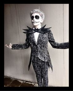 Ideas & Accessories for your DIY Nightmare Before Christmas Jack Skellington Halloween Costume Idea
