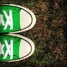 The grass is not always greener... #converse #chucktaylor