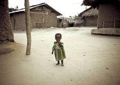 Baby girl in Pemba, Tanzania