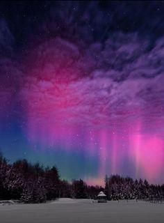 Moonlight Aurora, Norway