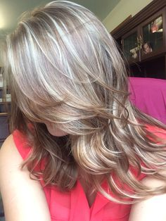Went lighter today-went for an ash blonde highlight and she did it PERFECTLY. Love this color combo.