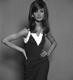 (Jean Shrimpton) I could've lived in the 1960s,..I wouldn't even have to change my hairstyle! lol