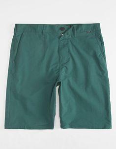HURLEY Dri-FIT Mens Chino Shorts Green
