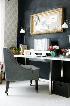 Pretty office by Schoenfeld