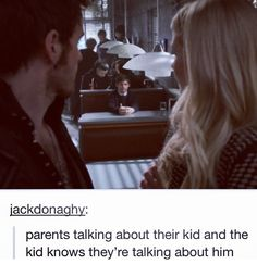Yeah Emma and Hook are like his parents