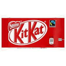I love kit kat because the texture is good and they are crunchy.