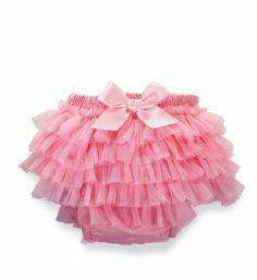 Mud Pie Baby-Girls Newborn Pretty In Pink Chiffon Bloomers: Amazon.com: Clothing