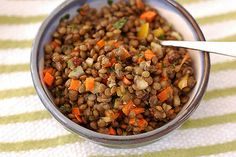 Vegetarian ideas: 35 meatless dishes - Spiced lentil salad with currants and capers - CSMonitor.com