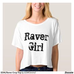 035e84a12b75f5 EDM Raver Crop Top Boxy Crop Top