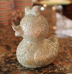 Coat rubber duckies in glitter, baby shower prize gift! How cute is this?? @April Cochran-Smith Cochran-Smith Cochran-Smith Cochran-Smith Benson