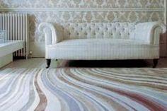 Paul Smith Pale Swirl Rug for The Rug Company Feminine Decor, Rug Company, Traditional Furniture, Modern Area Rugs, Floor Decor, White Furniture, Decor Interior Design, Interior Ideas, Rugs On Carpet