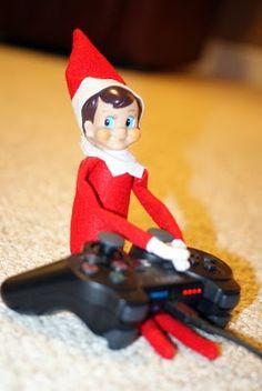 Elf on a shelf...