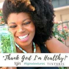 "It's Thanksgiving Week! So tell us what are you thankful for this week?  @tginatural and @texturesnaturalhaircare teamed up to launch the ""Thank God I'm...."" campaign as a way celebrate the Thanksgiving spirit!  You can win the @tginatural Moist Collection  $50 Gift Card @texturesnaturalhaircare!!  How to Enter:  1. Follow @tginatural & @texturesnaturalhaircare 2. Using the hashtag #tginxtextures post a selfie $ finish the phrase "" Thank God I'm.....""  Post your selfies with the hashtag…"