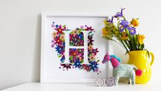How to Make a Quilled Floral Box Frame