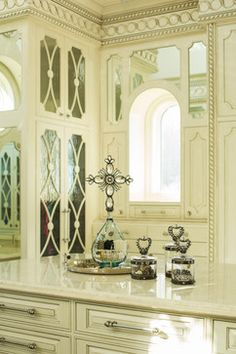 Her Closet - Mediterranean - Spaces - Houston - Patrick Berrios Designs