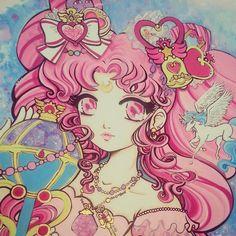 Sailor Chibi Moon by Miss Kika
