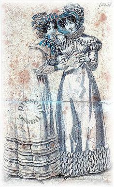 Fashion for Woman, 1824