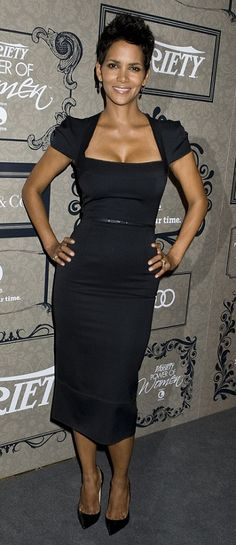 Celebrity Fashion- Halle rocks 50