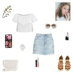 flowers by synclairel on Polyvore featuring polyvore moda style Topshop Yves Saint Laurent Under One Sky Christian Dior Forever 21 Benefit David Jones fashion clothing Spring cute casual ootd