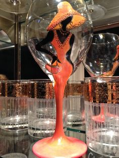 A FABULOUS Wine Glass for Dining and Entertaining 6 - Custom Hand-painted Glassware