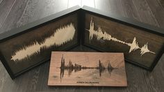 Giveaway: Solid Wood Soundwave Art | DudeIWantThat.com