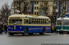 Trolley Buses in Moscow