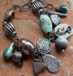 The Gift Charm Bracelet with Handmade Artisan by 13Alternatives, £65.00