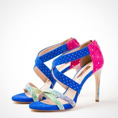 Oh how we love colour... 🧡💜💙💚💛💖  Www.meenugraziani.com  #meenugraziani Shoe Collection, Colour, Heels, Fashion, Color, Moda, Colors, Shoes Heels, Fasion