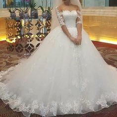 """"""" one of a kind bride """"  This is not only our slogan  , this is our strategy also 👰🏻 💝 ☎️Call us to book your appointment   01066610177 / 01226445527   🚗Address: 29 A  shams eldeen elzahaby street - Ard Elgolf - Heliopolis 🕛Working hours: 12pm - 9pm  Monday to Saturday  Instagram :  https://instagram.com/bridal_veil_egypt  Facebook : https://m.facebook.com/bridalveil.eg  #bridal_veil #trendy #beads #brides #ballgown #egyptbrides #weddingdresses #weddinggown #whitedresses 💥40% off…"""